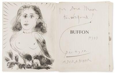 Pablo Picasso, '40 Dessins de Picasso en Marge du Buffon (Cramer books 84)'
