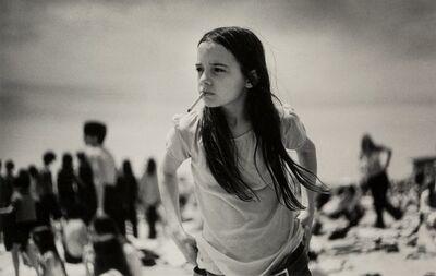 Joseph Szabo, 'Priscilla, Jones Beach', 1969-printed later