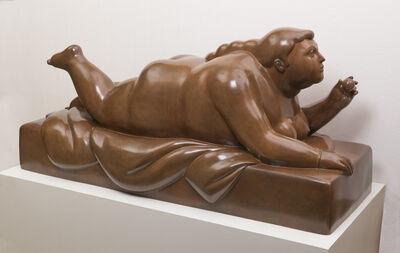 Fernando Botero, 'Lying-down Woman with Fruit', 2011