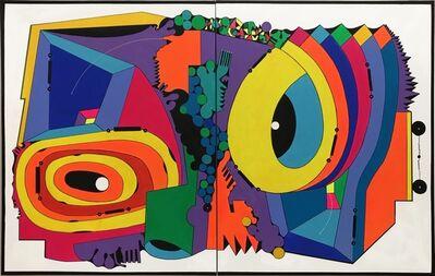 Luis Cruz Azaceta, 'El ojo de el covid', 2020