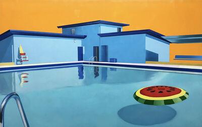 Ciara Rafferty, 'Pool with Watermelon Floatie', 2018