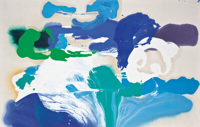 Charles Schucker, 'Volcanic Blues', 1986
