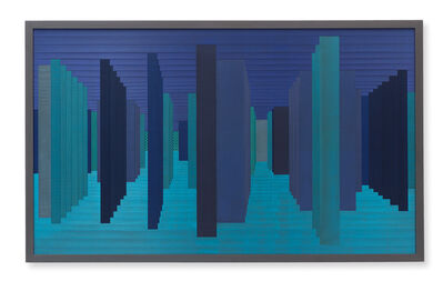 Janaina Mello Landini, 'Labirintos Rizomáticos - série VI (Venice - East)', 2018