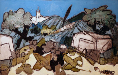 Claude Venard, 'La Chapelle', 1970-1990