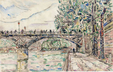Paul Signac, 'Paris, le Pont des Arts', 1927