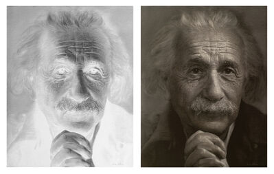 Li Shun, 'Untitled - Albert Einstein', 2014