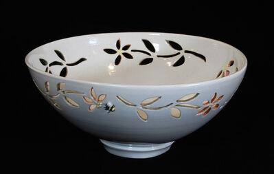 Carol Berger, 'Star Jasmine Bowl- White, pastels, porcelain, decor', 2021