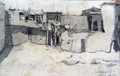 Samir Salameh, 'Old Damascus', 1969