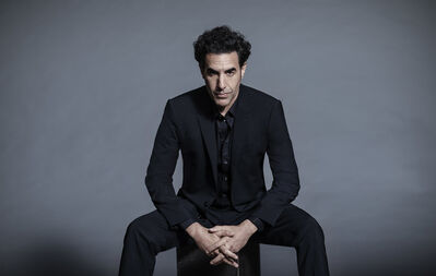 Russell James, 'Sasha Baron Cohen - Seated Portrait', 2020