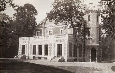 Charles Marville, 'Pavillon de Madrid, Bois de Boulogne', 1858/1858