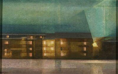 Lyonel Feininger, 'Street Nocturne', 1929