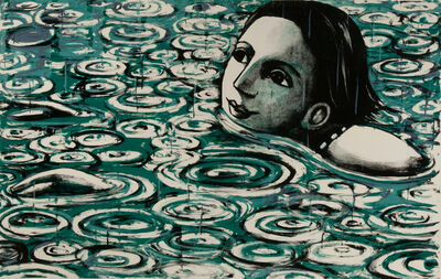 Anita Klein PPRE, 'Rain on The Lake ', 2020