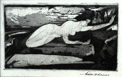 Arthur Bowen Davies, 'Resurrection (aka Flying Figures, Border of the Lake', 1916