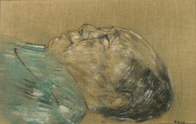 Leon Golub, 'Mao Tse Tung (In Sarcophagus - 1977)', 1978