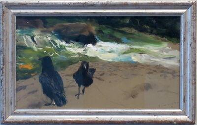 Jamie Wyeth, 'Raven Pair, Brandywine', 2010