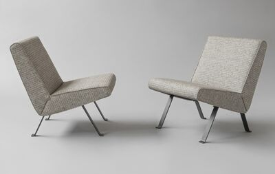 Joseph-André Motte, 'Pair of chairs 740', 1957-1958