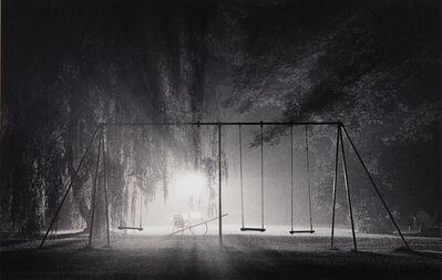 Michael Kenna, 'Swings, Catskill Mountains, New York', 1977-printed 1987