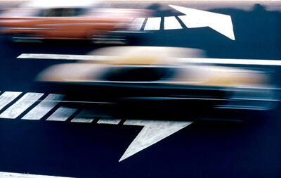 Ernst Haas, 'Traffic, New York City', 1963