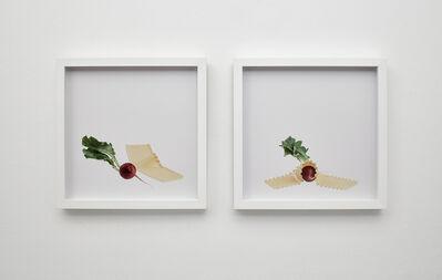 Bettina Hubby, 'radish and noodle, noodle smothers radish', 2015