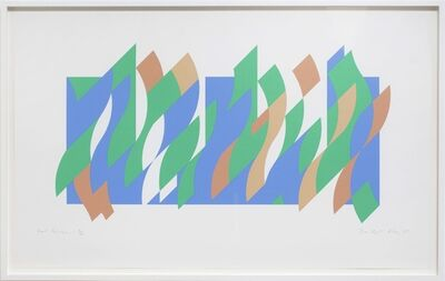 Bridget Riley, 'Wall Painting 1 (print)', 2007