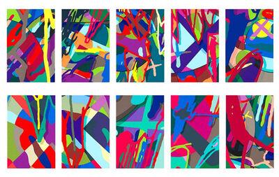 KAWS, 'Tension (Full Set of 10 Prints in Portfolio)', 2019