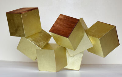 Chloe Hedden, '18k Gold and Padauk Pyrite', 2019