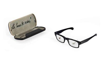 Daniel Spoerri, 'La lunette noire - Optique moderne', 1961
