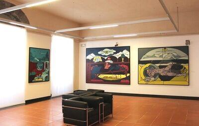 Valerio Adami, 'Giro Tondo e altri giochi, Vicinanze and Dolce Amaro'