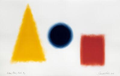 David Nash, 'Yellow, Blue, Red', 2018