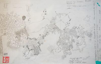 Lynn Gall, 'Study for Mind Map', 2016