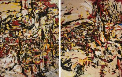 Ernest Briggs, 'Untitled-diptych', 1953