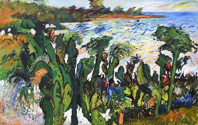 Yehouda Chaki, 'Spring Landscape 9047', 1990