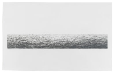 Vija Celmins, 'Untitled (Ocean)', 1972