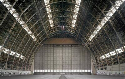 David Leventi, 'Hangar No. 2, Marine Corps Air Station Tustin, California', 2015
