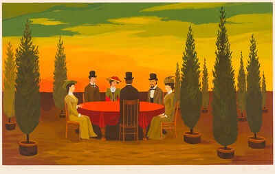 Philip Campbell Curtis, 'The Table', 1984