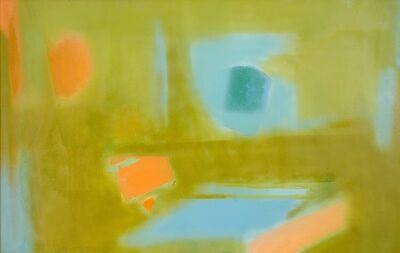 Esteban Vicente, 'Blue', 1986