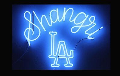 Claire Evans, 'Shangri-LA Poster', 2012