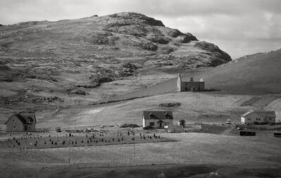 Paul Glazier, 'Vatersay Graveyard & Ben Rulibreck, 2016 from The Vatersay Series', 2016