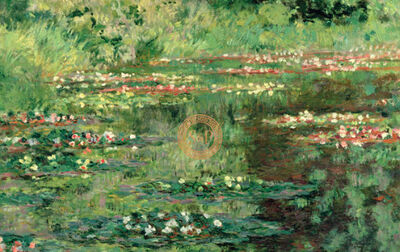 Claude Monet, 'The Waterlily Pond, 1904', 1904