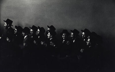 Leonard Freed, 'Hasidic Wedding, the Men Dance in One Room, the Women in Another,', 1954