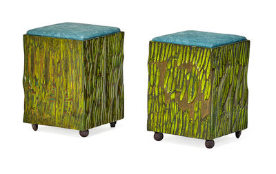 Phil Powell, 'Pair of stools, New Hope, PA', 1960s