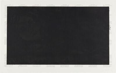 Tim Rollins, 'Black Alice; and White Alice', 1989