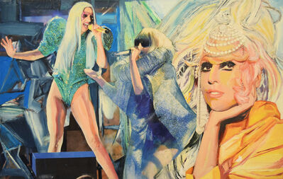 Martin Cohen, 'Three Lady Gagas', 2016