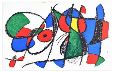 Joan Miró, 'Composition VIII (After) Joan Mirò', 1974