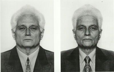 Jiří David, 'Jacques Derrida, from the series Hidden Image', 1991-1995