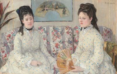 Berthe Morisot, 'The Sisters', 1869