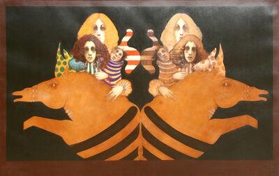 Ramon Santiago, 'Mirror Image', 1972