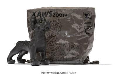 KAWS X Neighborhood, 'Zooth (Black)', 2007