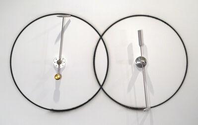 "Marley Dawson, 'Circle Work (rocket assist 37"" / 37"", interlocking)', 2013"