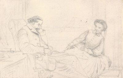 William Sidney Mount, 'The Nap', 1807-1868